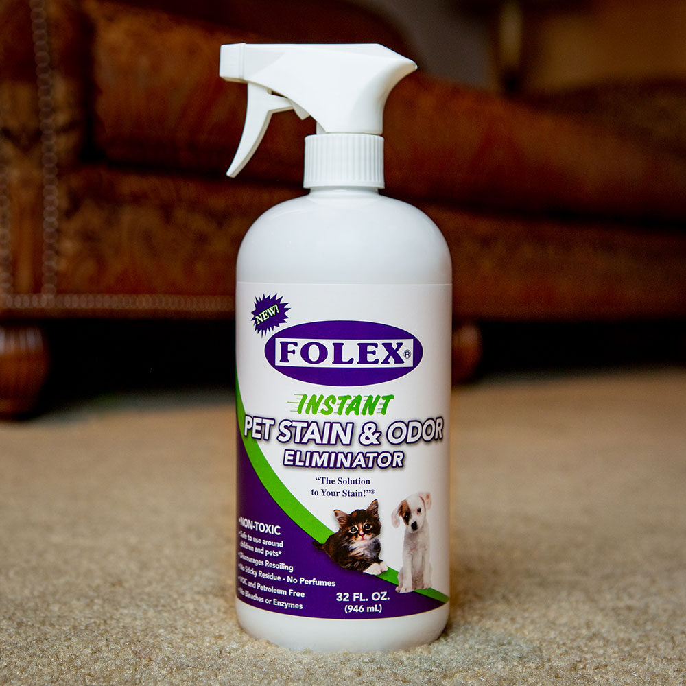 FOLEX Instant Pet Stain and Odor Eliminator